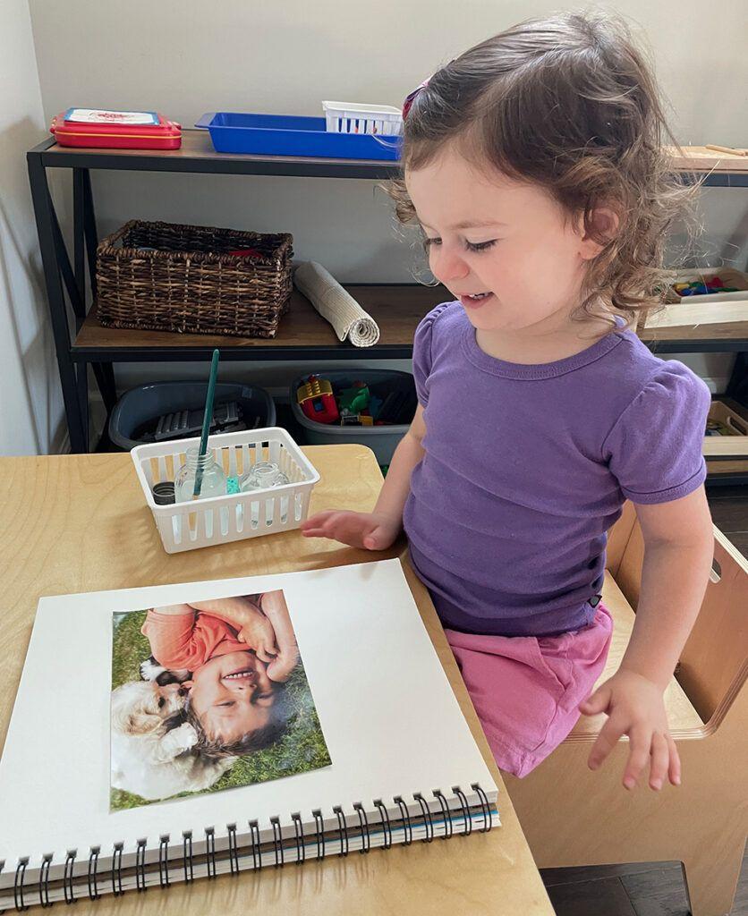 diario para niños en edad preescolar, montessori, dictado, libro de cuentos, currículum de idiomas, cuento ilustrado,