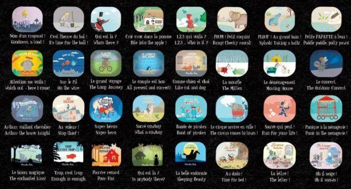 Caja del cine 32 historias Moulin Roty 4