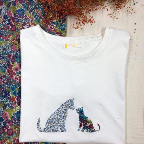 Camiseta solidaria SOS maltrato animal