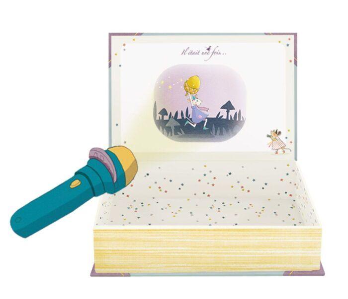 Libro linterna-proyector de cuentos 1