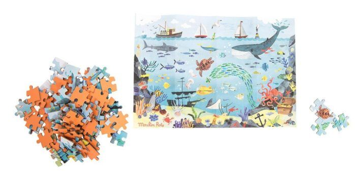 Puzzle infantil océano 2