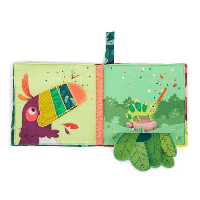 Libro textil Jungla 3