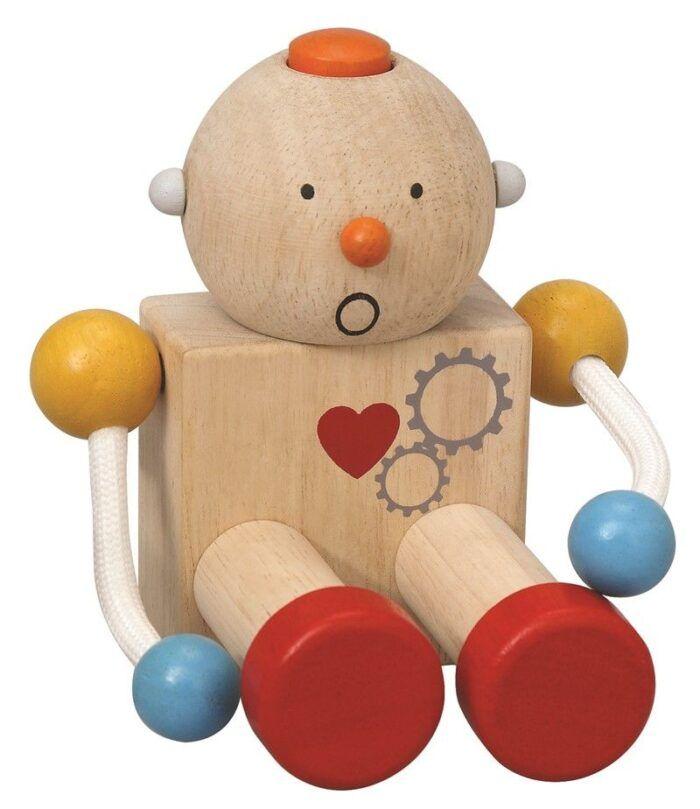 Robot de madera 2