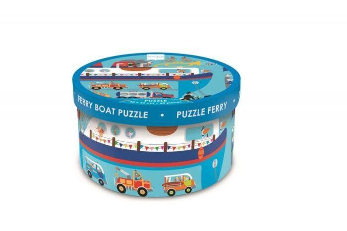 Puzzle 60pcs Ferry Boat 2