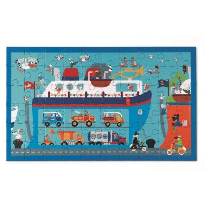 Puzzle 60pcs Ferry Boat 1