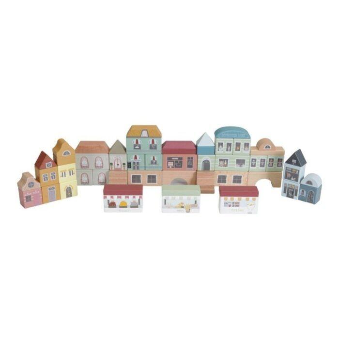 50 bloques de madera ciudad 1