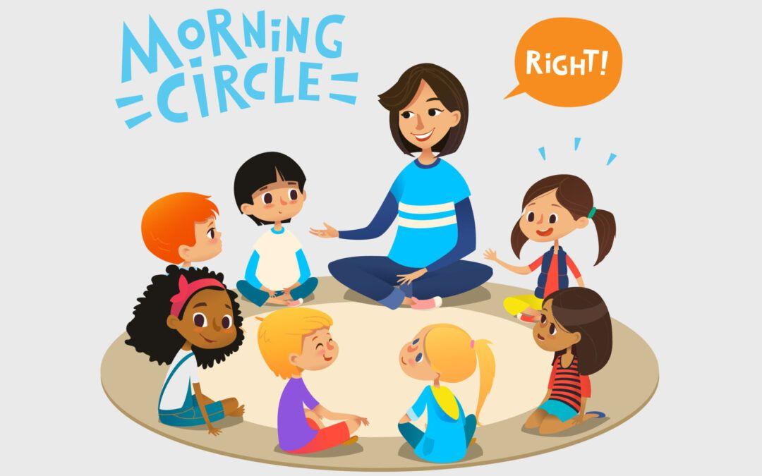 Ideas Montessori Circle Time para el hogar o el aula: la mamá con mentalidad Montessori