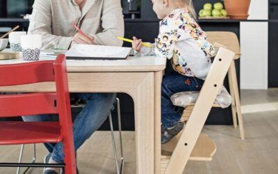 ¿Se utilizan tronas en Montessori?