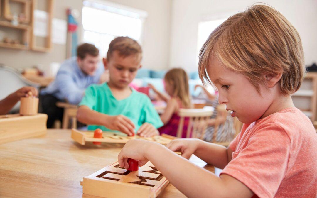 Entorno preparado Montessori: principios y características