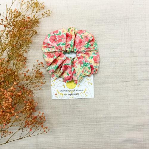 Maxi Scrunchie seda floral