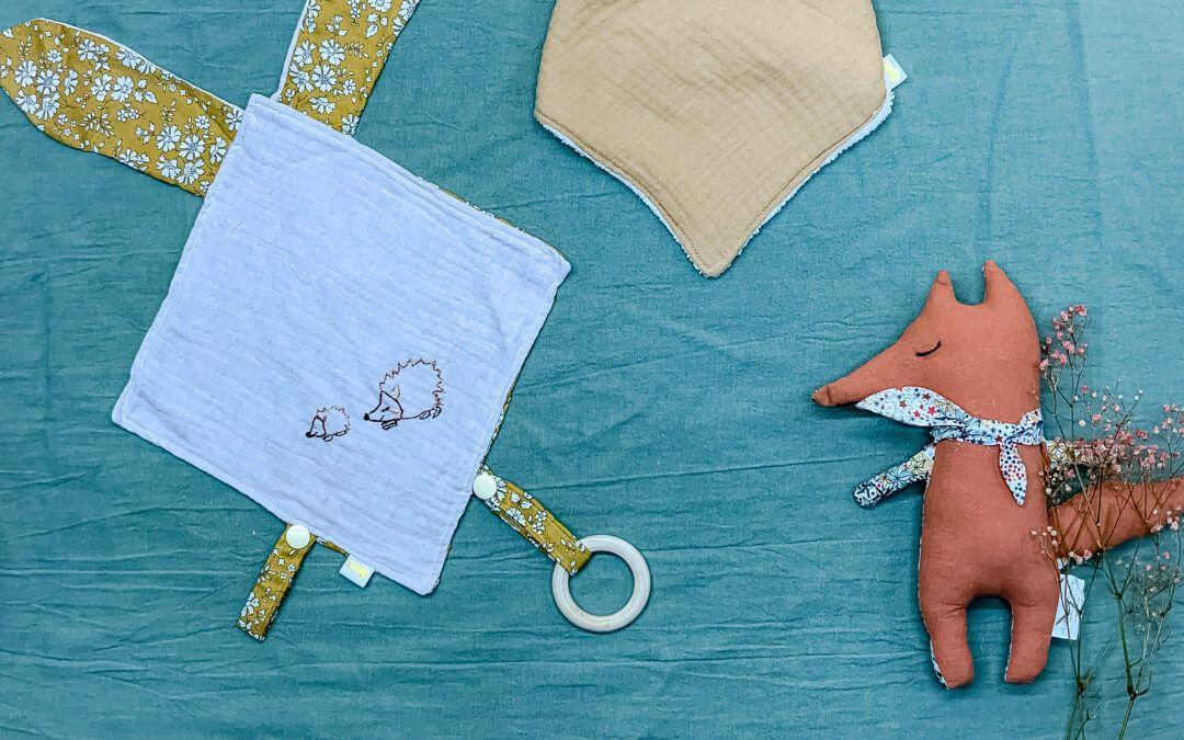 El doudou para bebés, un objeto indispensable para una crianza positiva.