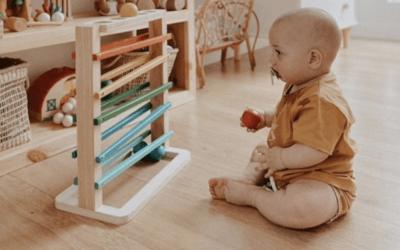 Los mejores rastreadores de bolas Montessori para niños pequeños