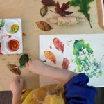 leaf activities, fall, Montessori, homeschooling, science, preschoolers, activities, science